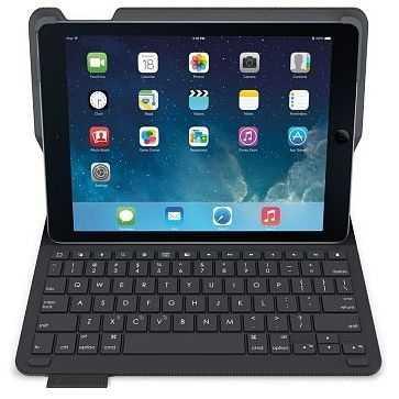 Logitech Type+ Tastatur-Case schwarz für iPad Air 2