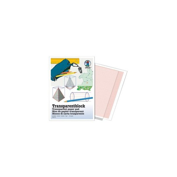 HERLITZ Transparentpapierblock DIN A3