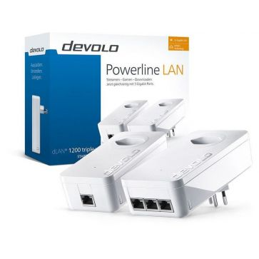 devolo Powerline dLAN 1200 triple+ Starterkit