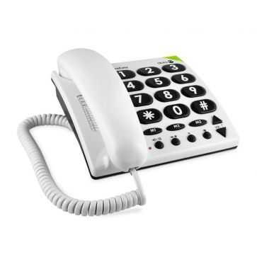 Doro Tischtelefon PhoneEasy 311c Weiss / 56710