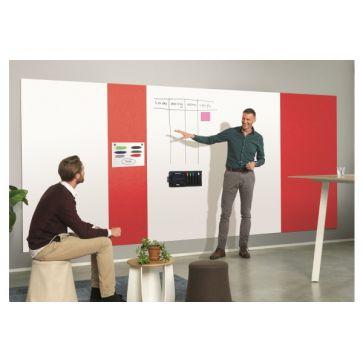 MAGNETOPLAN Infinity Wall X Acoustics 1011106 rot 980x1980mm