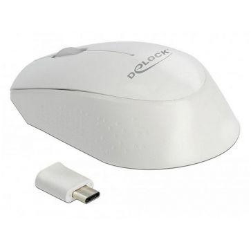 Delock Mobile Maus 12668 USB Type-C kabellos