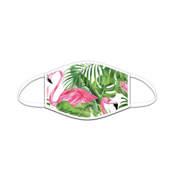 ROOST Mund-Nasen-Maske 9713 Flamingo