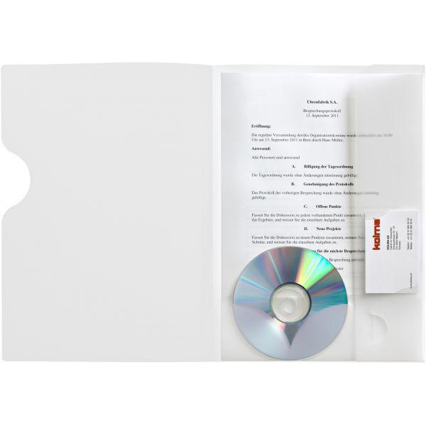 KOLMA Präsentationsmappe Easy A4 transparent