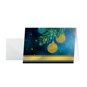 SIGEL Weihnachts-Karte/Couvert A6/A5 DS065