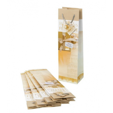 SIGEL Geschenktasche Golden / GT018