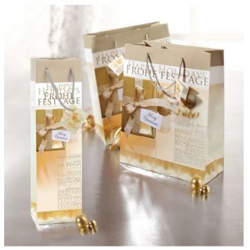 SIGEL Geschenktasche Golden /GT016