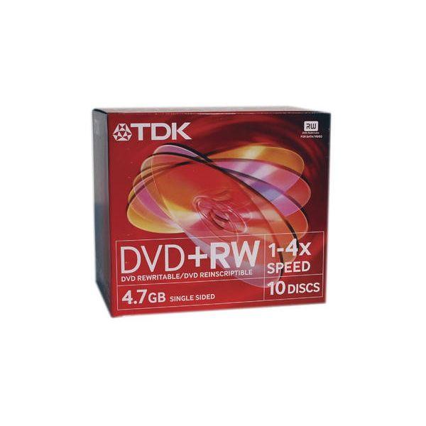 TDK DVD+RW474X10