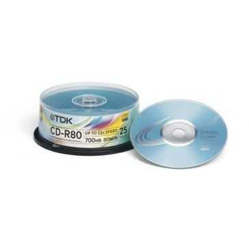 TDK CD-R80CB25
