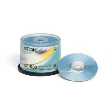 TDK CD-R80CB50