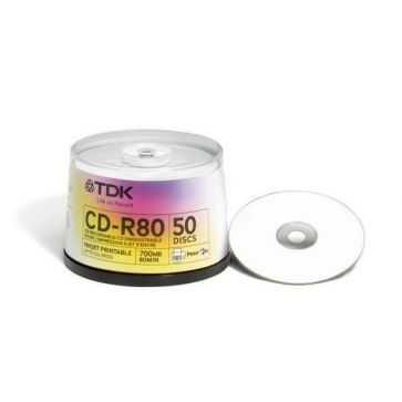 TDK CD-R80PWCB50
